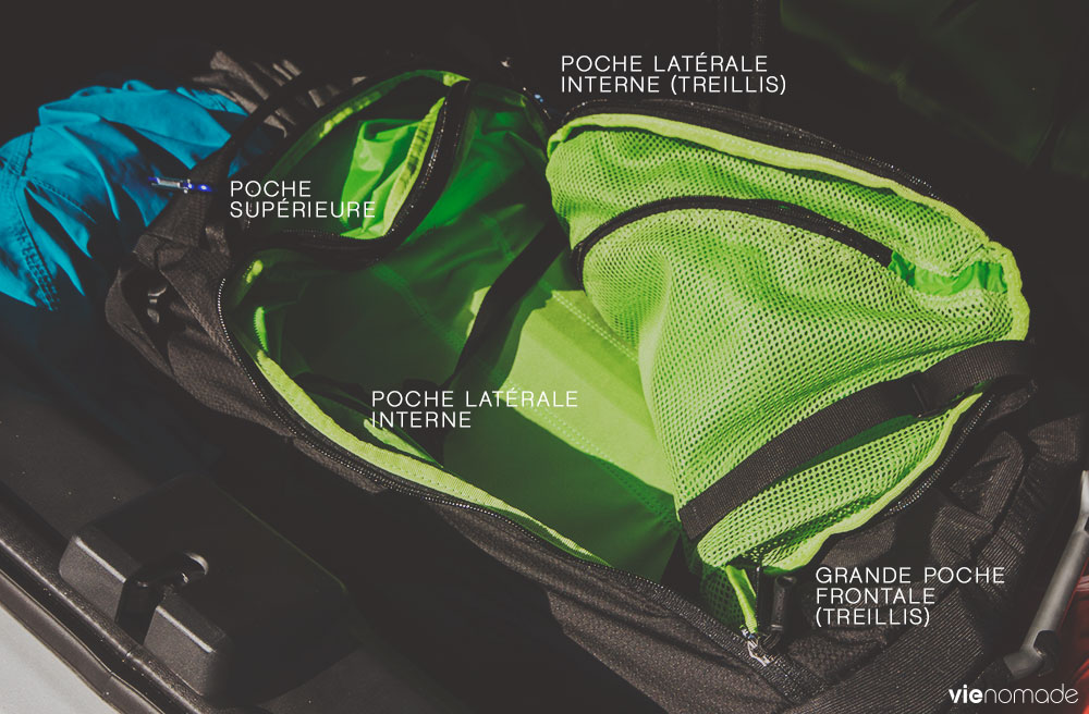Bagage à main pour l'avion Osprey