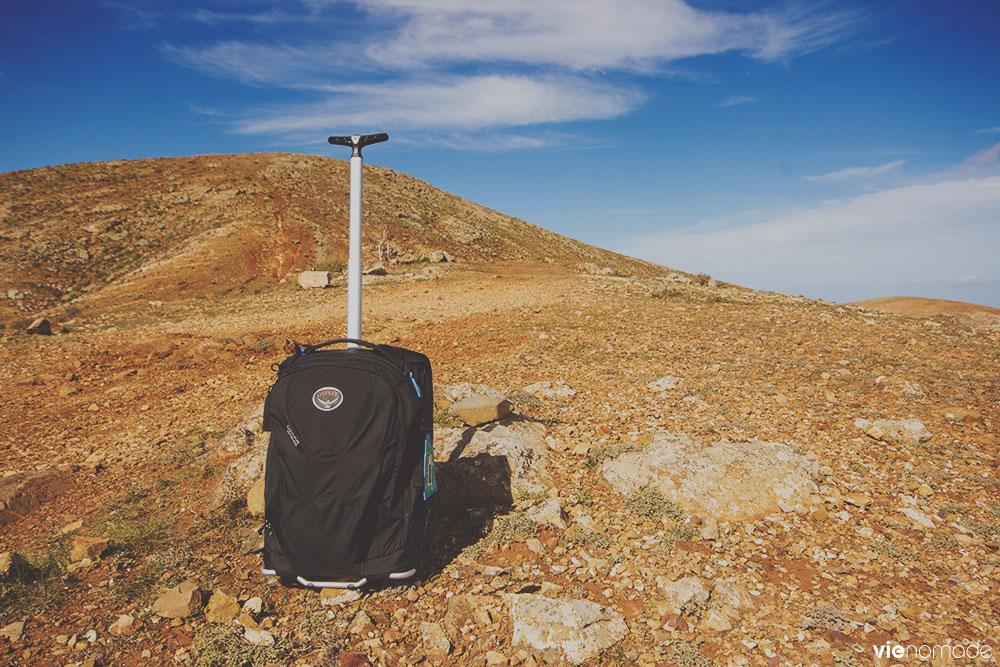 avis sur le sac à roulettes Osprey Ozone 36