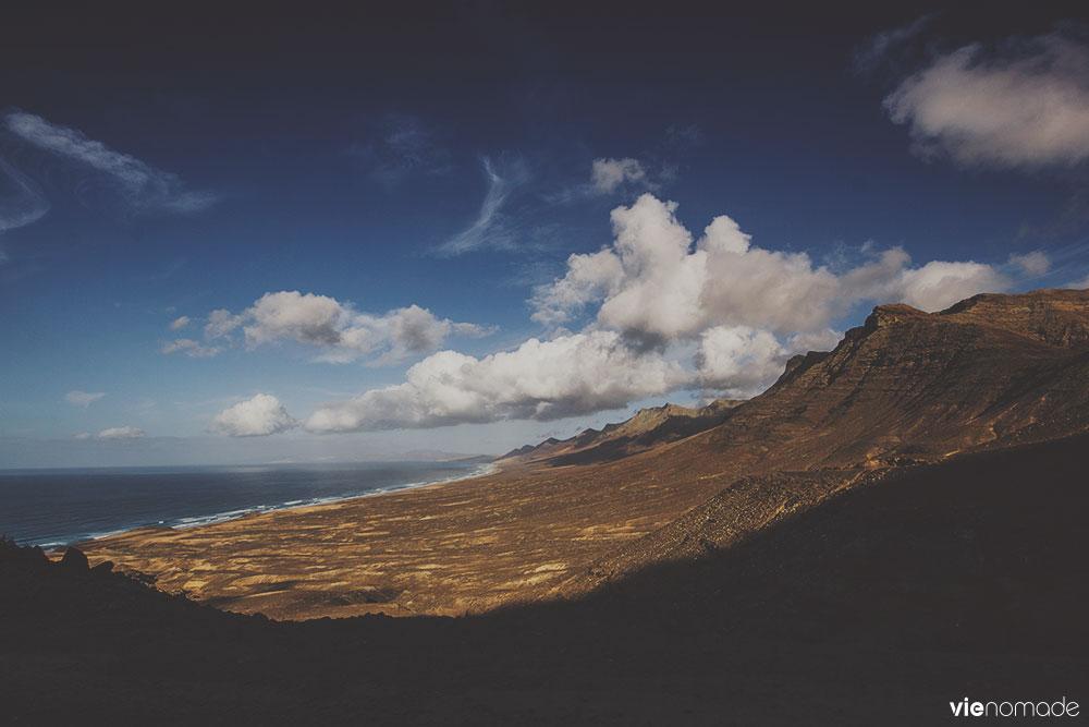 Plage de Cofete et caldera, Pico de Zarza