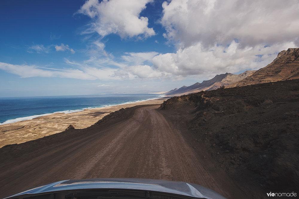Road trip à Fuerteventura, de Morro Jable à Cofete