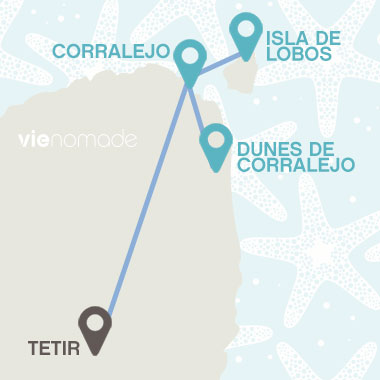 Road trip à Fuerteventura, Corralejor et Isla de Lobos