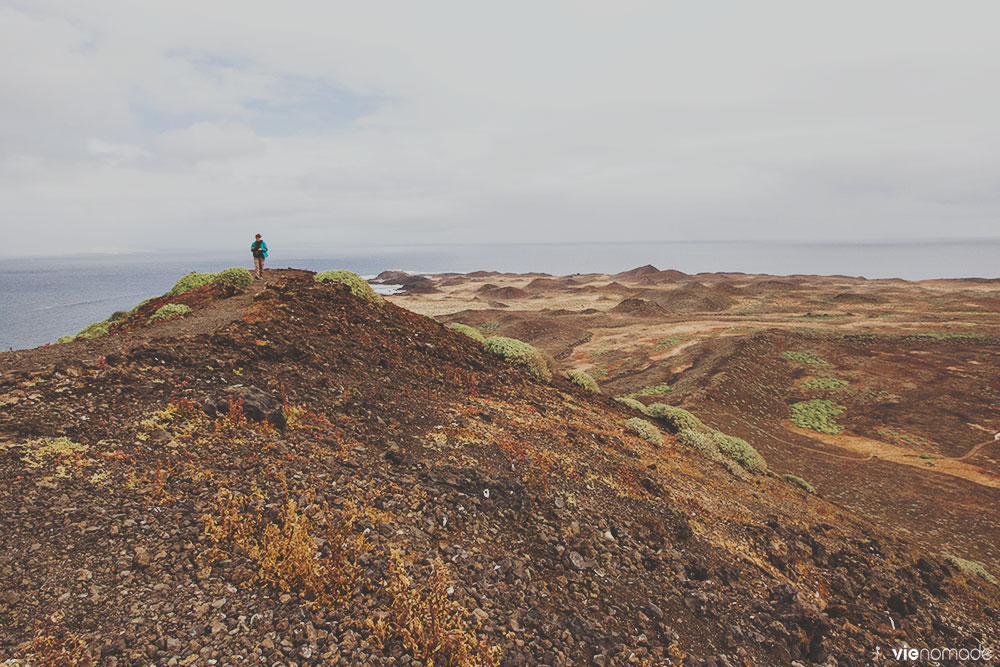 La Caldera, point culminant de l'Isla de Lobos, Fuerteventura