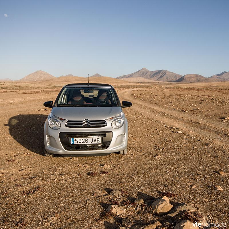 Location de voiture à Fuerteventura