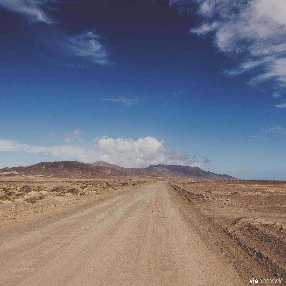 La route de Morro Jable à Jandia