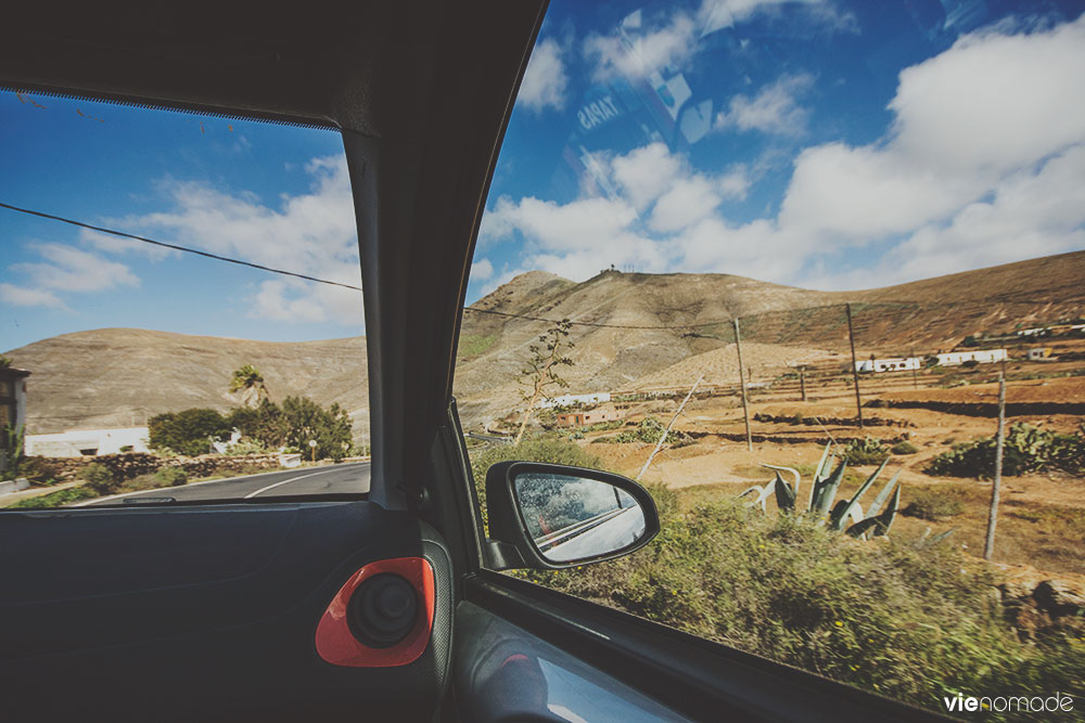 Road trip à Fuerteventura: route de Tetir à La Oliva