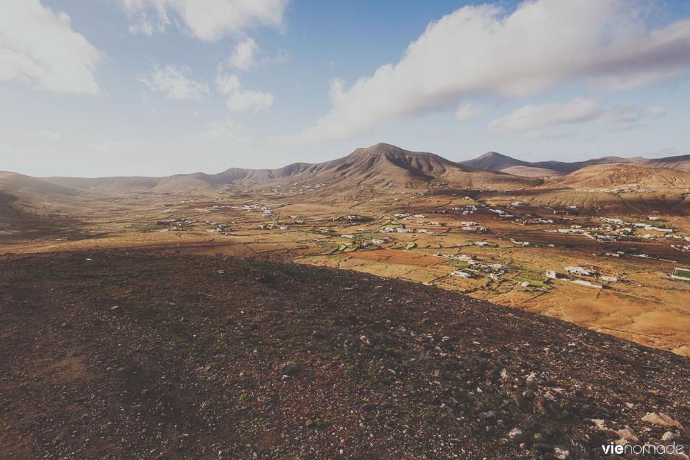 Tetir vu de la montagne Temejereque