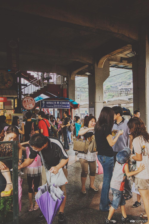 Gare d'Houtong, Taïwan