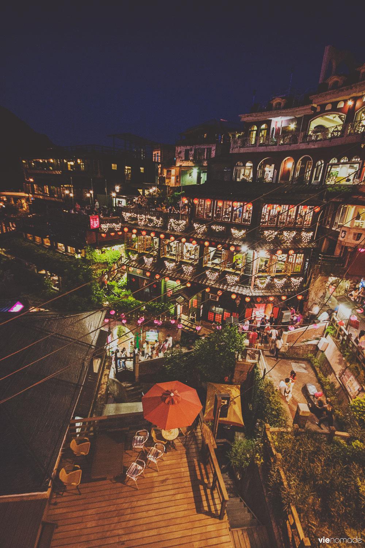 Les terrasses à lanternes de Jiufen