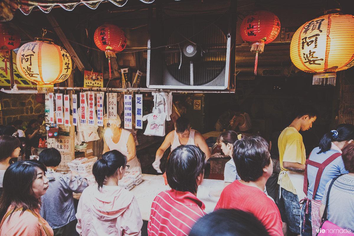 Le marché de Jiufen, Taïwan
