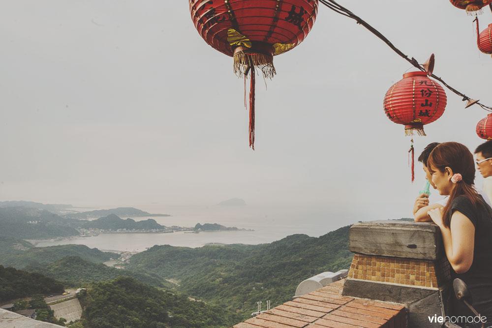 Les lanternes de Jiufen, Taïwan