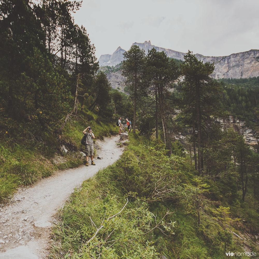 Randonnée Kandersteg - Lac d'Oeschinen
