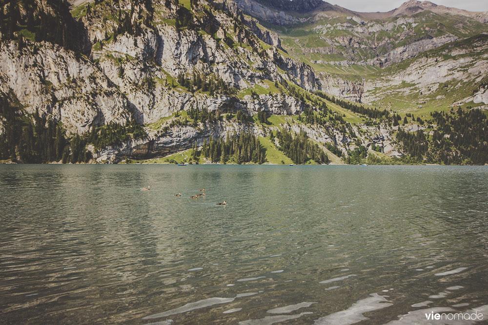Randonnée au Lac d'Oeschinen