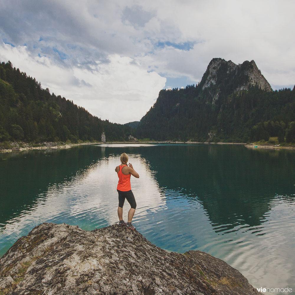 Randonnée au Lac Taney, Suisse
