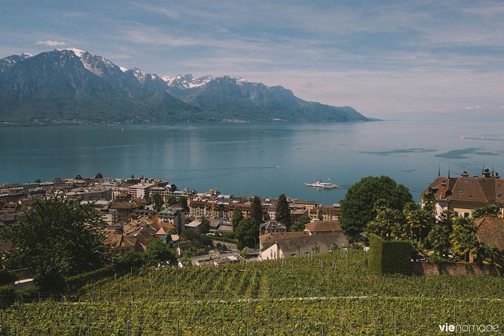 Randonnée and la région de Montreux Riviera