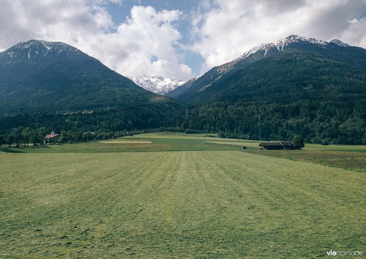 Les plus beaux trajets en train en Europe