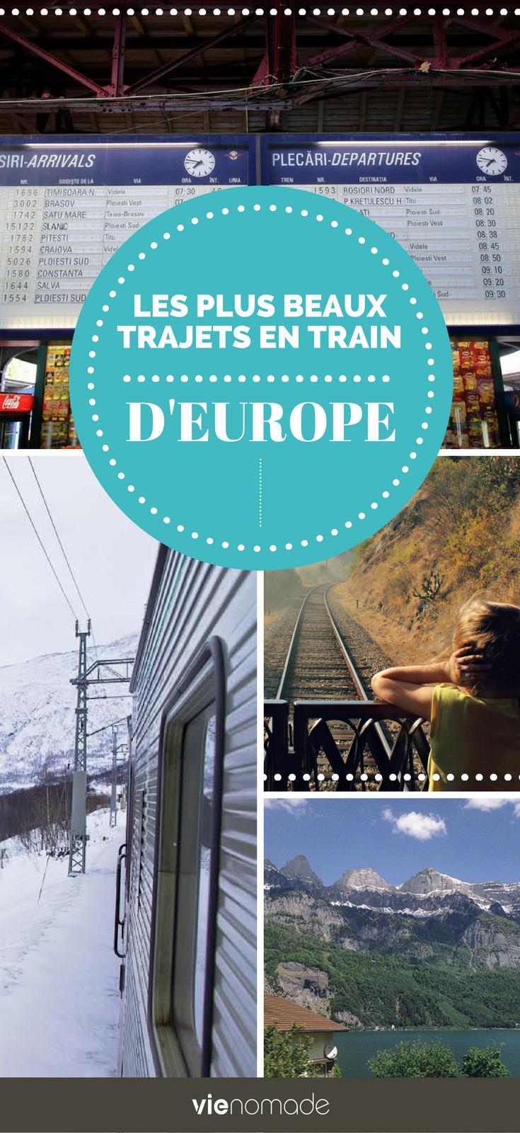 Les plus beaux voyages en train d'Europe