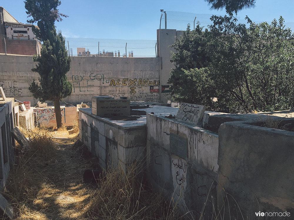 Le mur de Palestine, à Bethléem