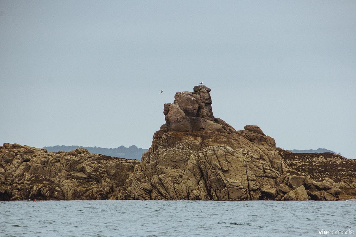 Croisière dans l'archipel des Ebihens