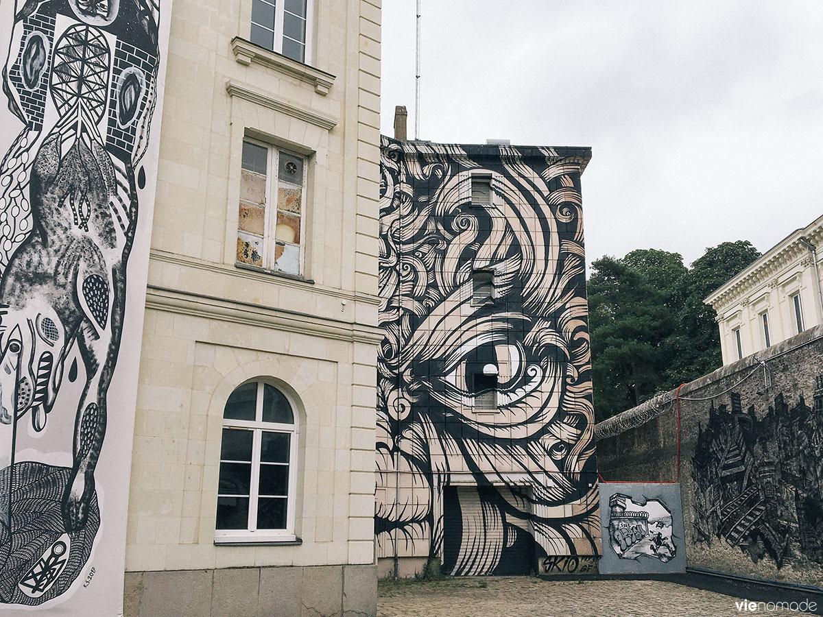 Exposition Entrez Libres à la prison de Nantes