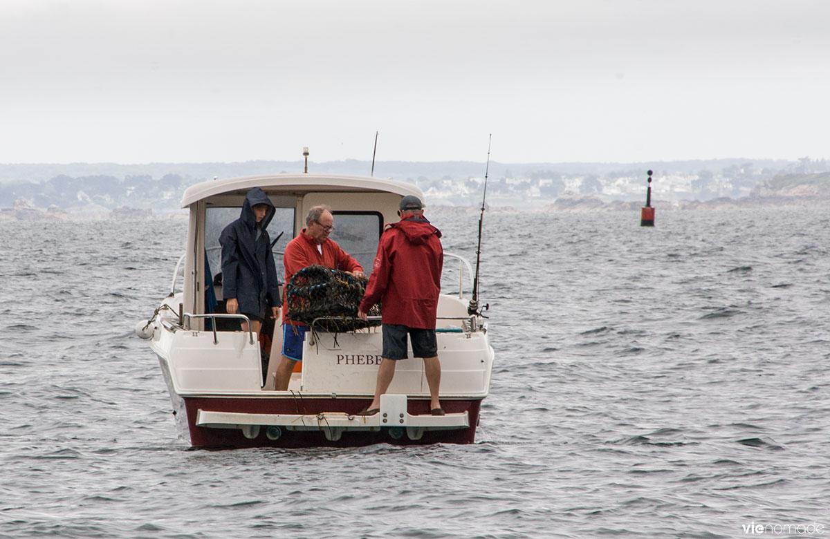 Pêcheurs au Cap Fréhel