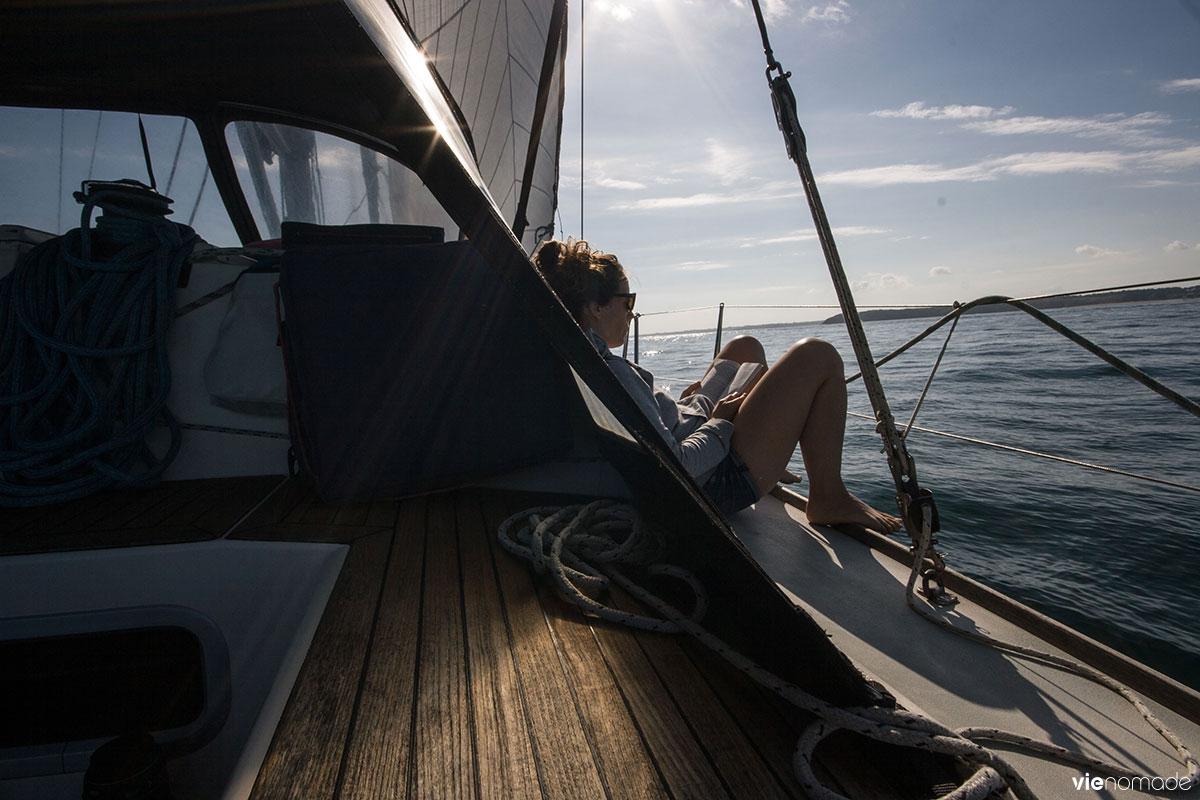 Croisière en voilier en Bretagne avec Skippair