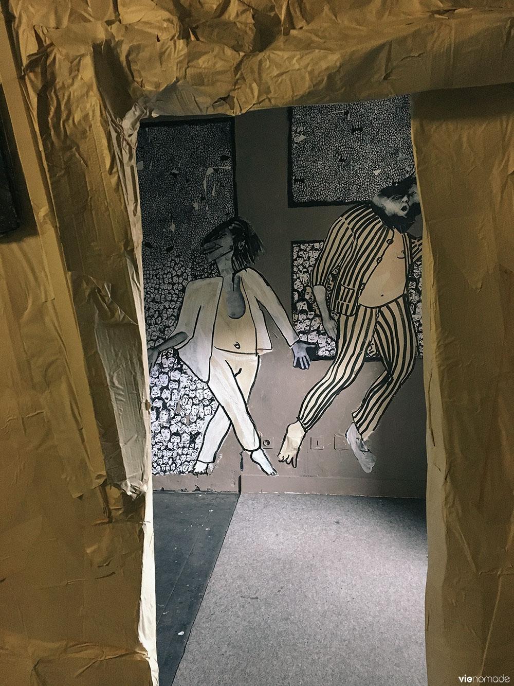 Exposition temporaire à la prison de nantes