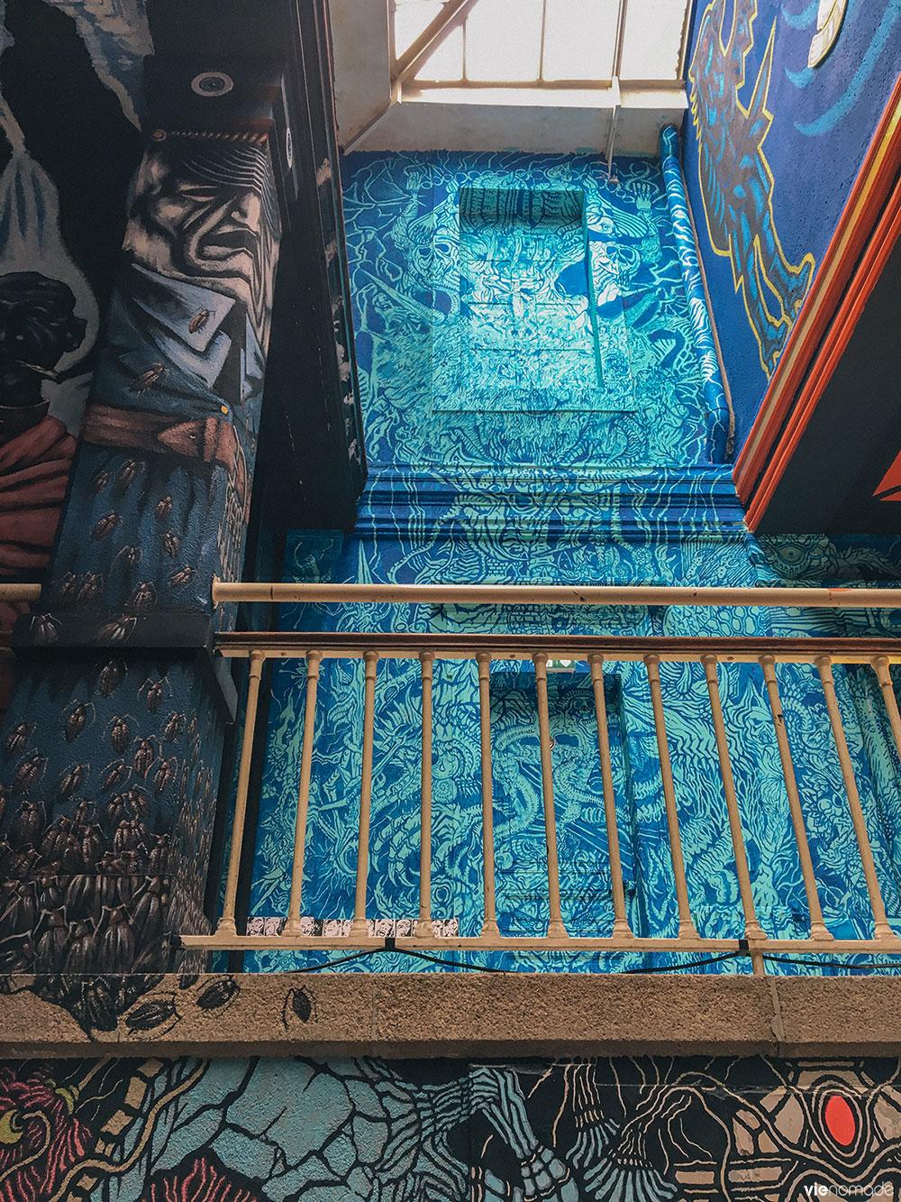 Street art à l'ancienne prison de Nantes