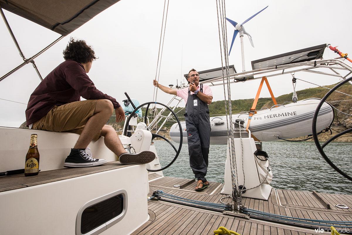 Croisière en voilier avec Skippair