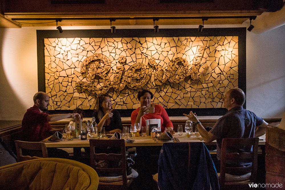 Bierol, restaurant fusion au Tyrol, Kufstein