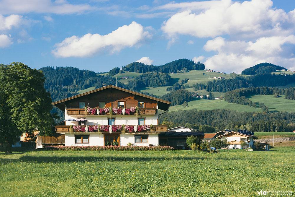 Voyager dans le Tyrol, en Autriche