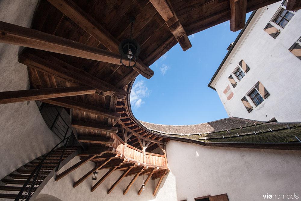 Le château de Kufstein au Tyrol