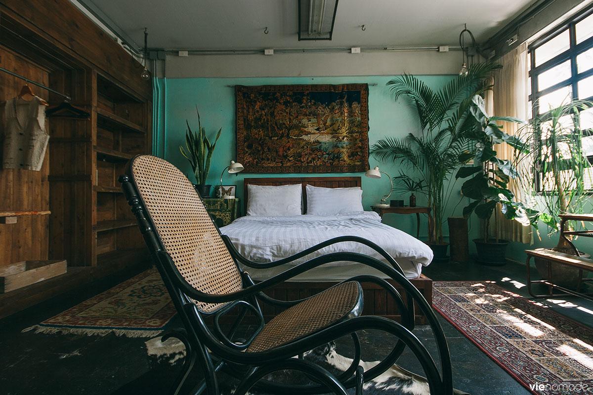 Hôtel insolite et original à Bangkok: Mustang Nero