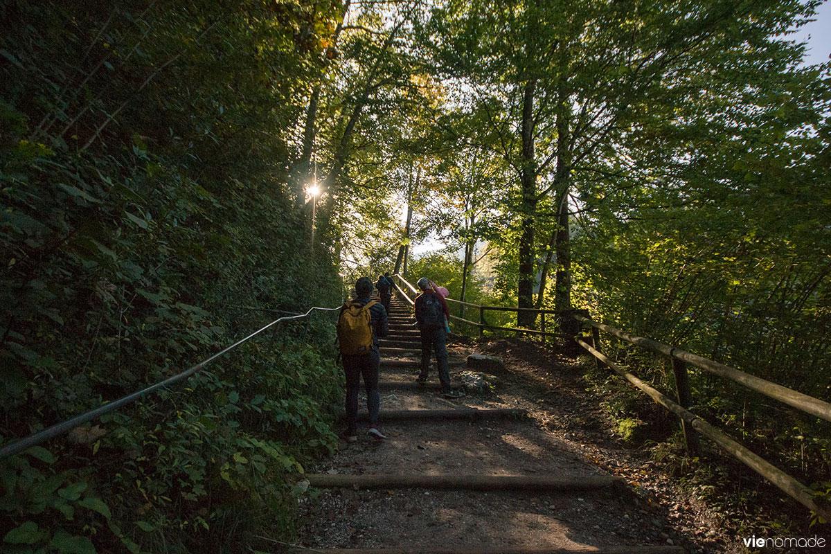 Randonnée au Tyrol: Kaisertal