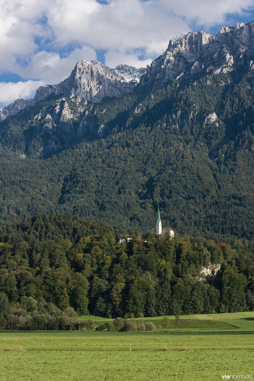 La nature du Kufstein, au Tyrol