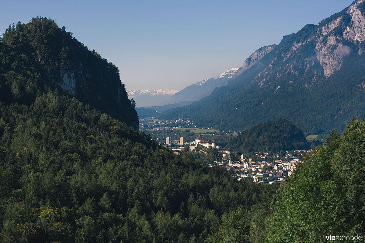 Randonnée au Kufstein en Autriche: Kaisertal