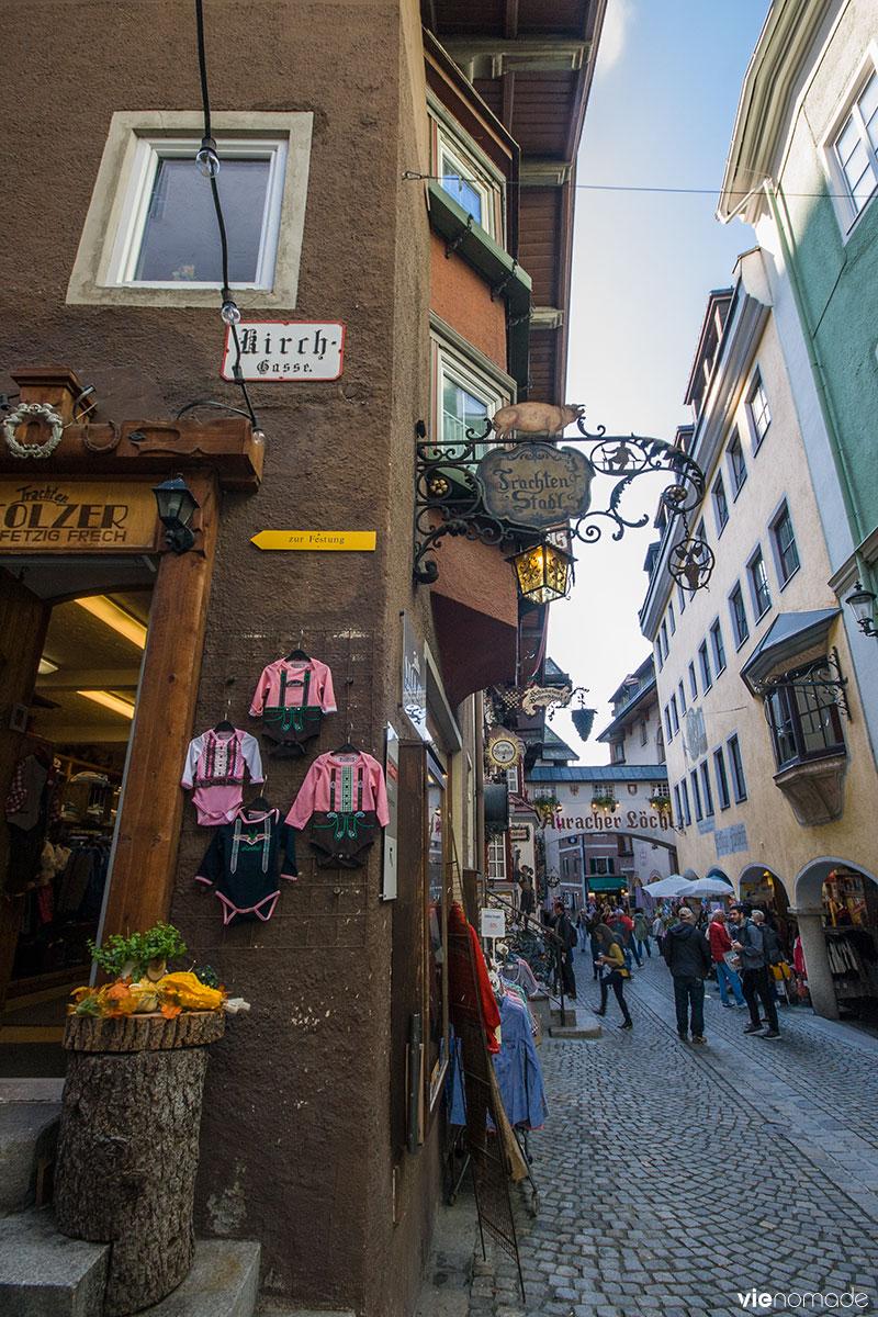 Voyage en Autriche: la ville de Kufstein dans le Tyrol