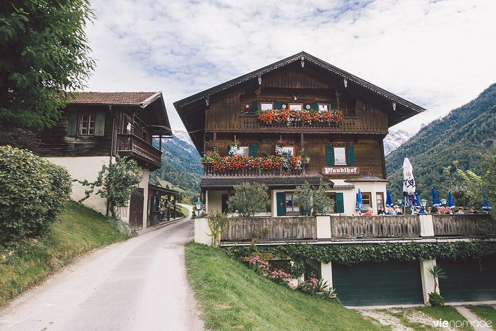 Manger en montagne au Tyrol: Kaisertal