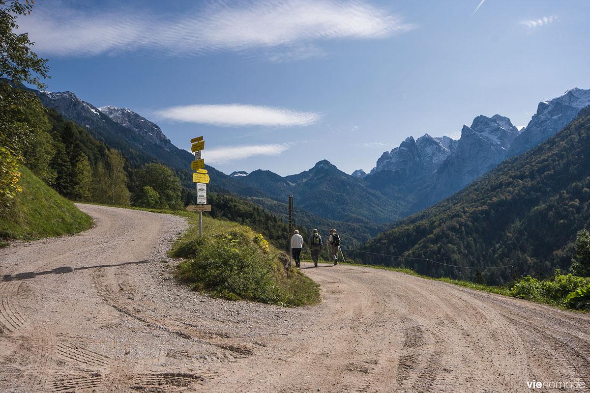 Randonnée au Kufstein au Tyrol: Kaisertal