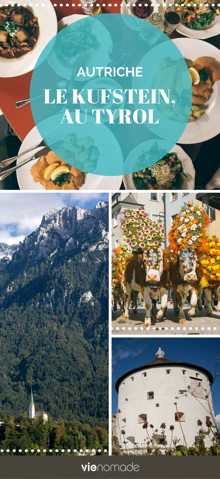 Un voyage en Autriche: le Kufstein, coeur du Tyrol