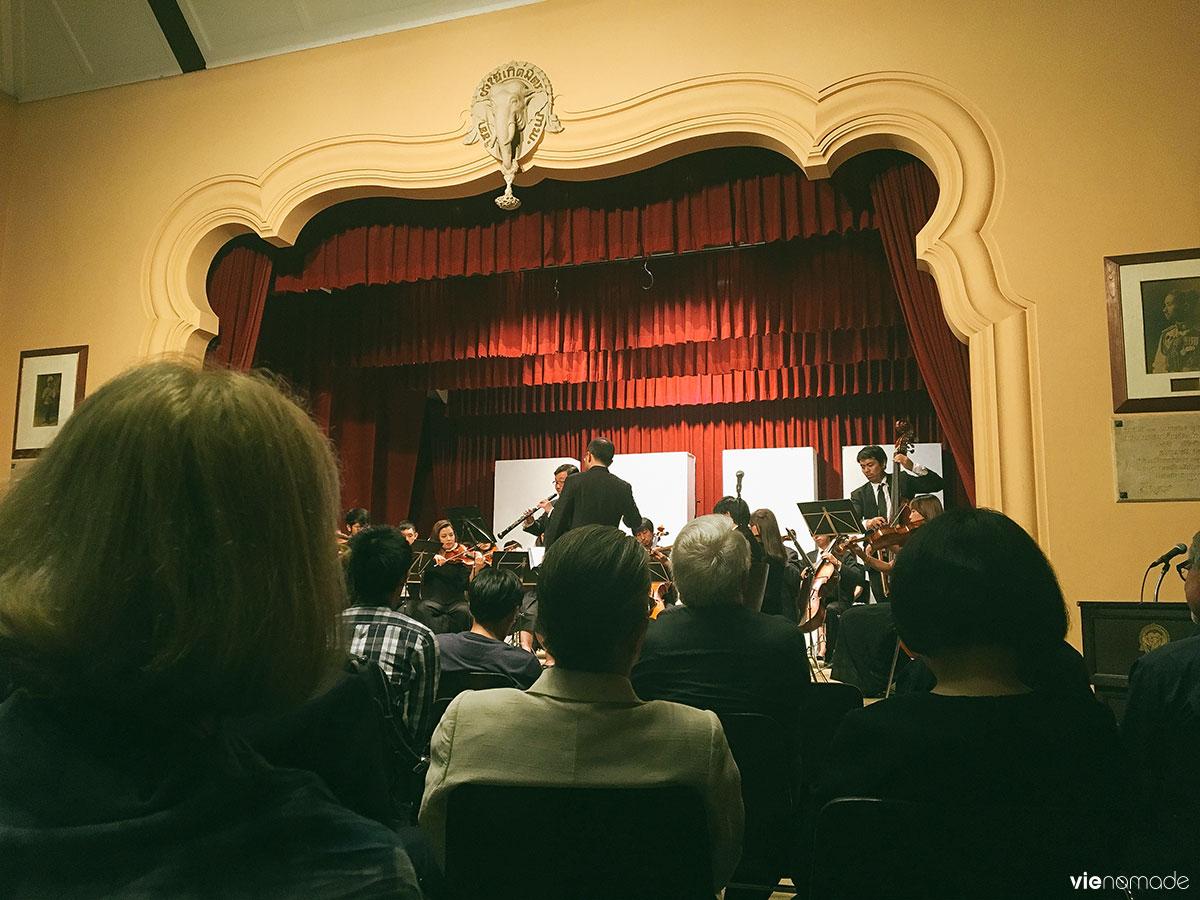 Concert de musique classique au Siam Society de Bangkok