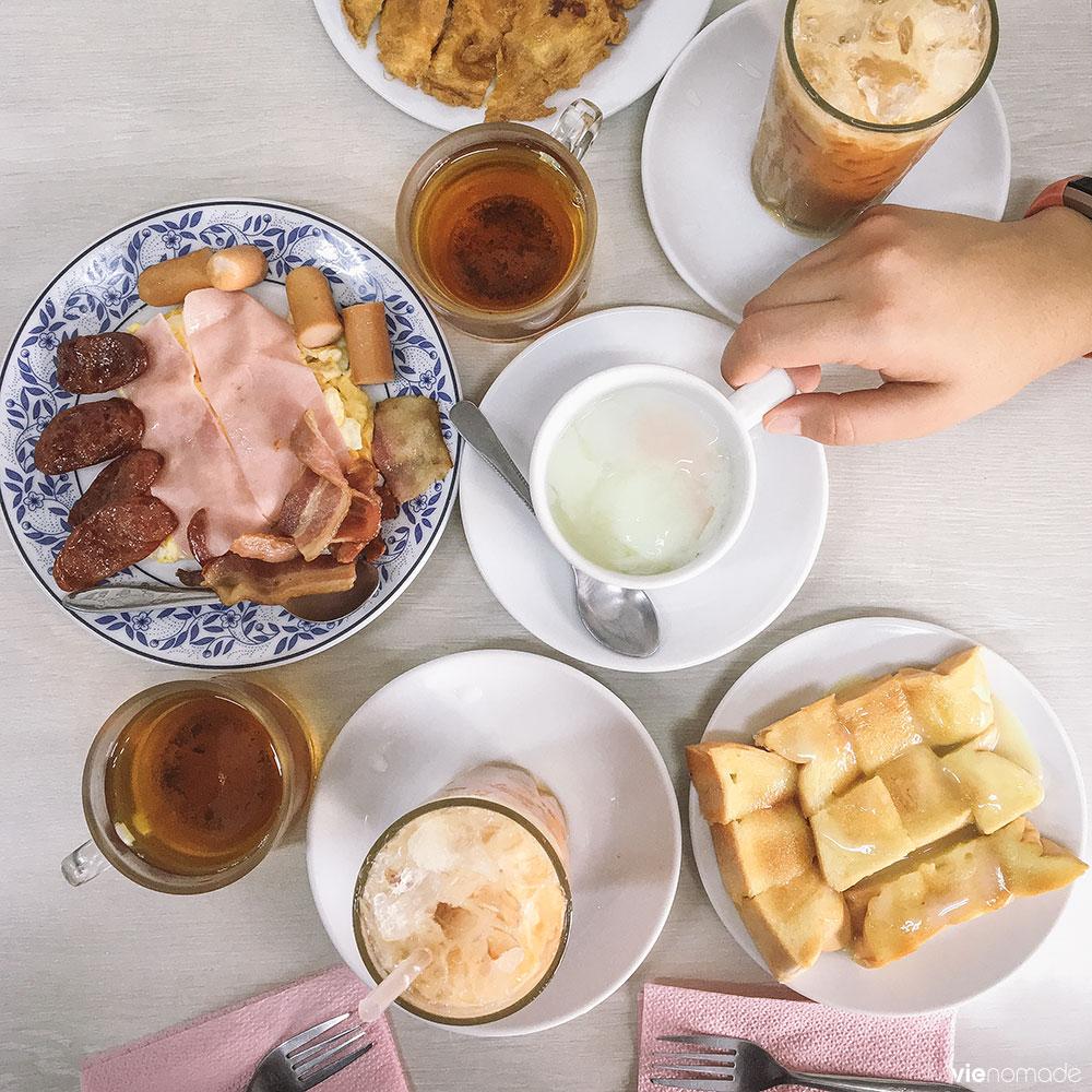 On Lok Yun, petit-déjeuner à Chinatown
