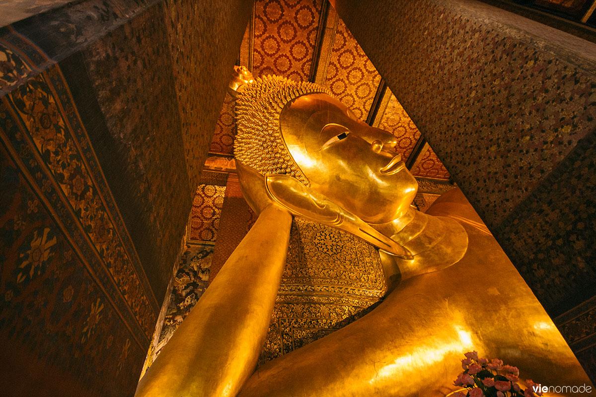 Le bouddha couché du Wat Pho