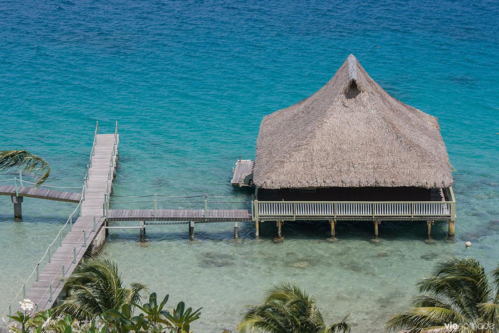 Les villas sur l'eau de Bora Bora