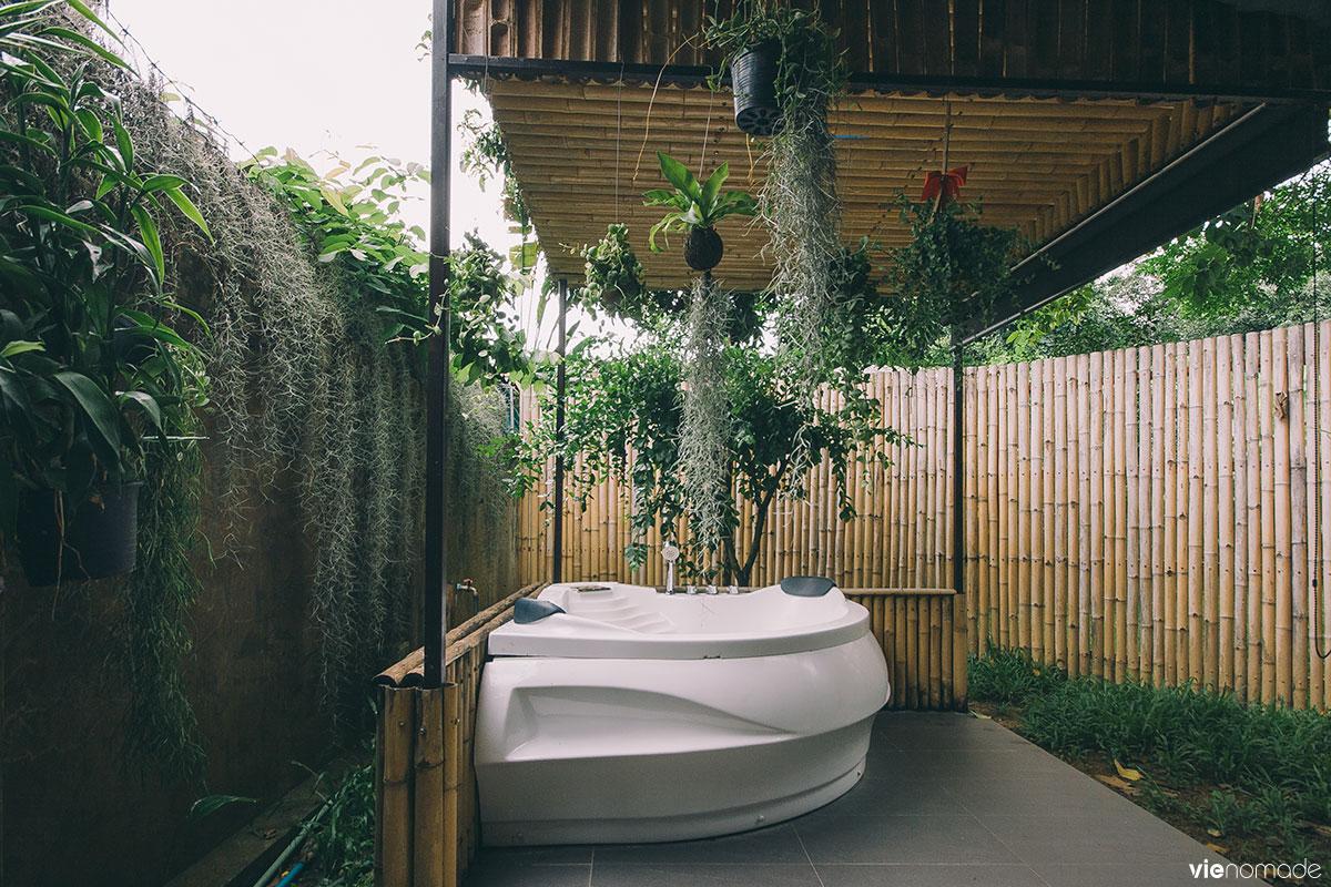 Chambre avec jacuzzi à Chiang Mai