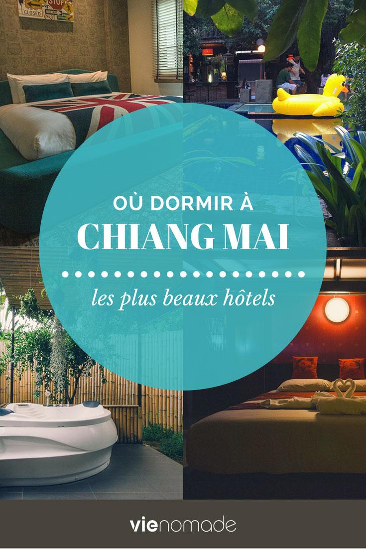 Où dormir à Chiang Mai? Les meilleurs hôtels et guesthouses