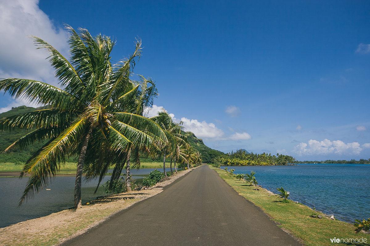 Paysages de Huahine, Polynésie Française