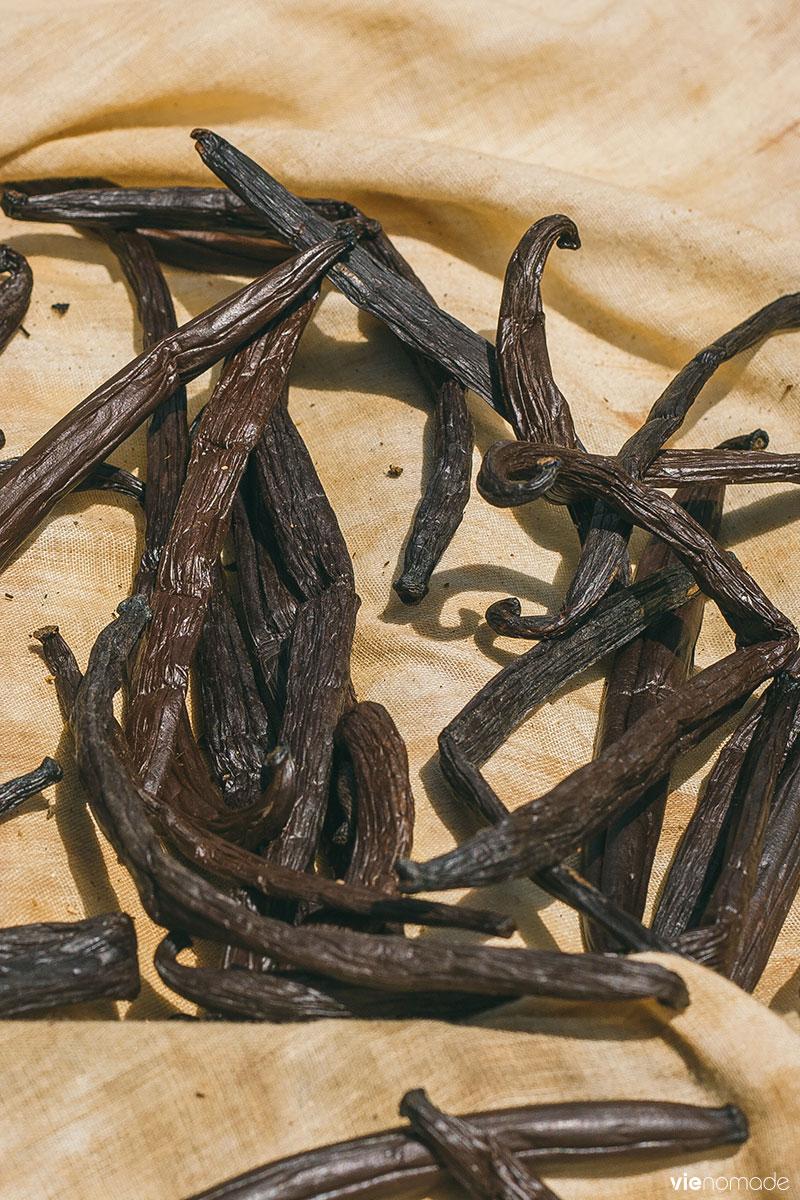 La vanille de Huahine, or noir de Polynésie