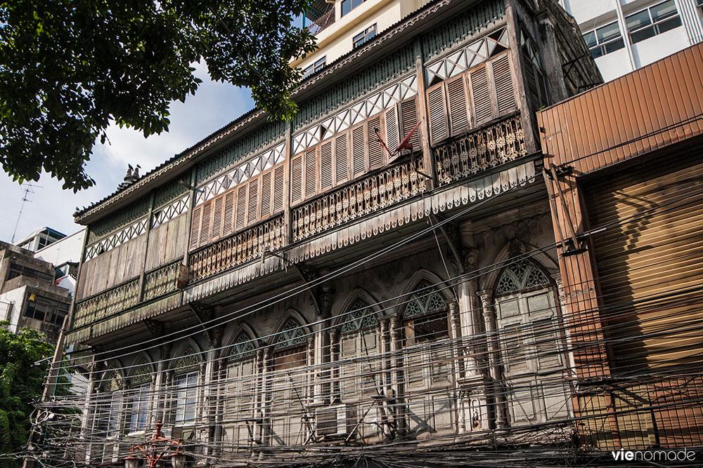 Architecture coloniale à Bangkok: le style sino-portugais