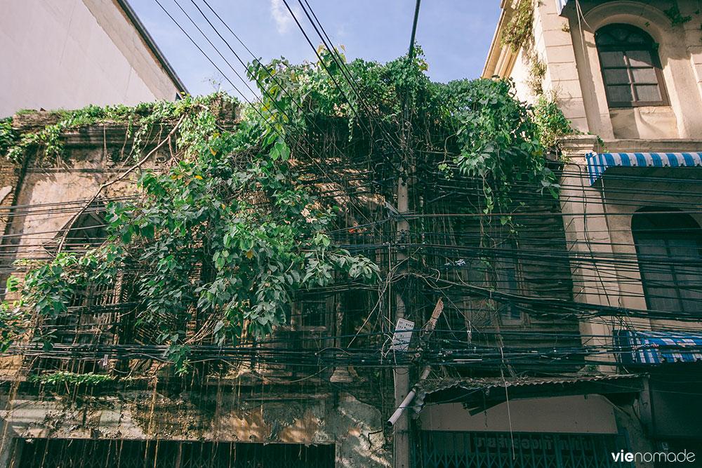 Architecture sino-portugaise à Chinatown