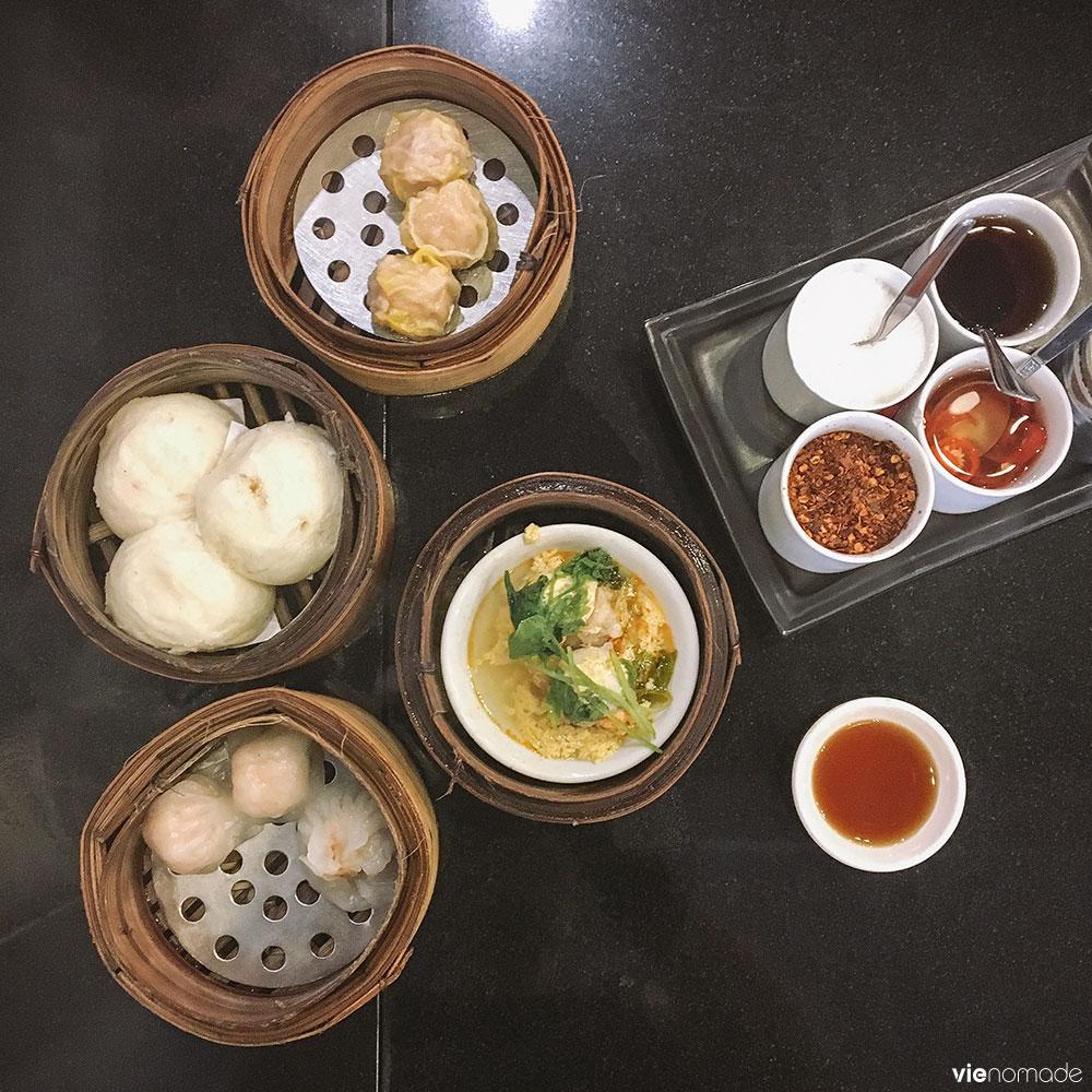 Manger à Chinatown, Bangkok: les dim sum